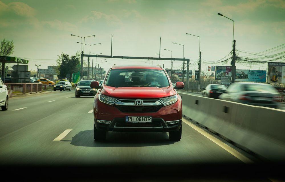 Honda CR-V hibrid vs. Honda CR-V benzină, episodul 2: hibrid sau benzină în afara orașului? - Poza 5