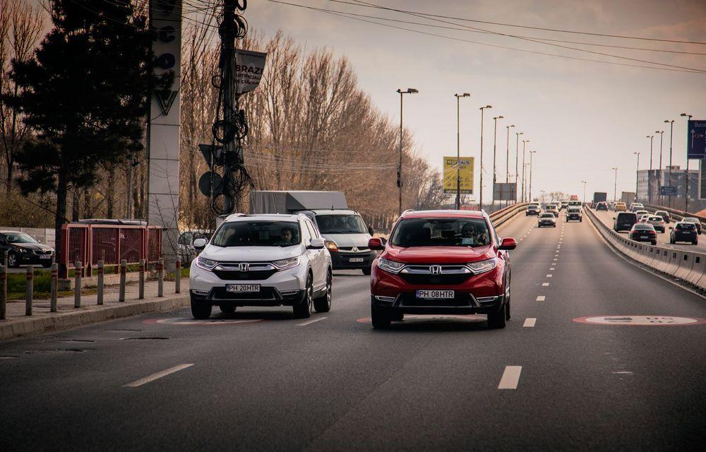 Honda CR-V hibrid vs. Honda CR-V benzină, episodul 2: hibrid sau benzină în afara orașului? - Poza 3