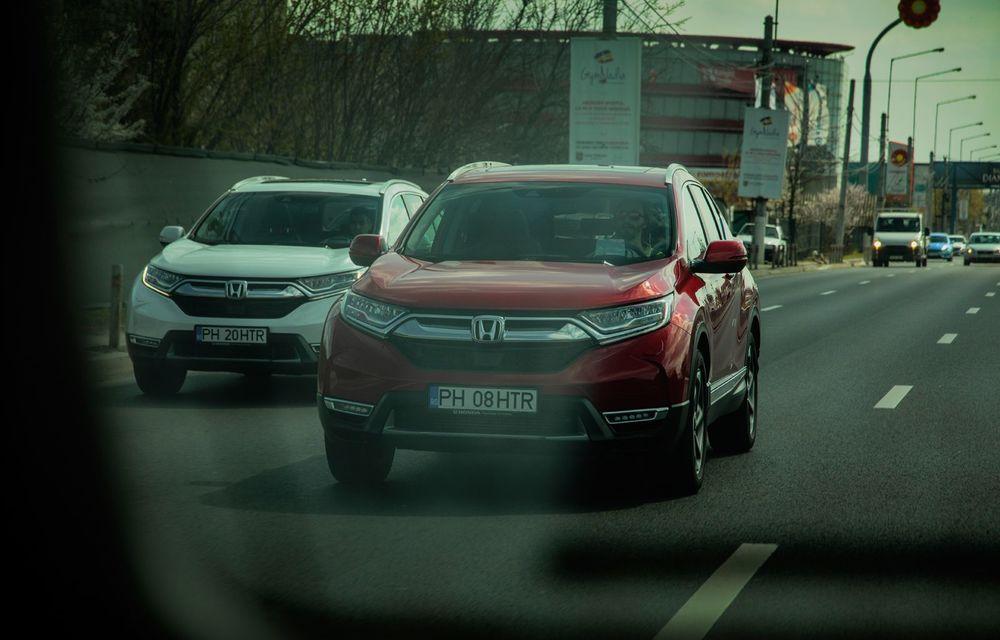 Honda CR-V hibrid vs. Honda CR-V benzină, episodul 2: hibrid sau benzină în afara orașului? - Poza 4