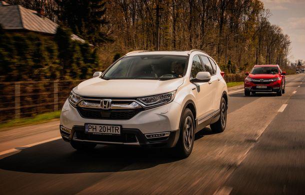 Honda CR-V hibrid vs. Honda CR-V benzină, episodul 2: hibrid sau benzină în afara orașului? - Poza 13