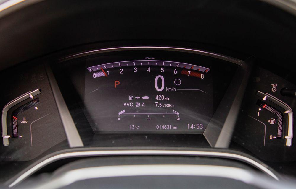 Honda CR-V hibrid vs. Honda CR-V benzină, episodul 2: hibrid sau benzină în afara orașului? - Poza 23