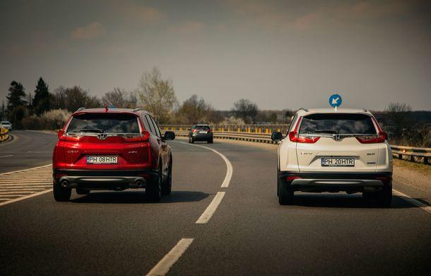 Honda CR-V hibrid vs. Honda CR-V benzină, episodul 2: hibrid sau benzină în afara orașului? - Poza 9