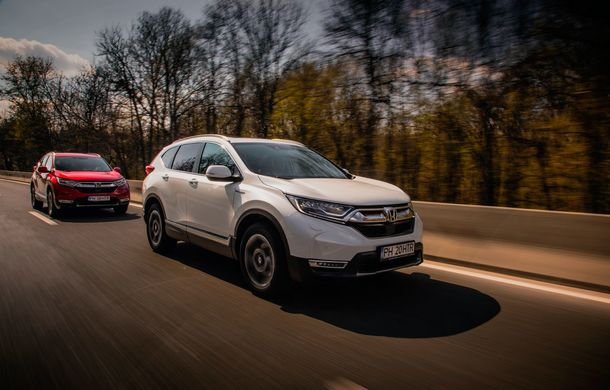 Honda CR-V hibrid vs. Honda CR-V benzină, episodul 2: hibrid sau benzină în afara orașului? - Poza 8