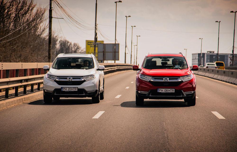 Honda CR-V hibrid vs. Honda CR-V benzină, episodul 2: hibrid sau benzină în afara orașului? - Poza 1