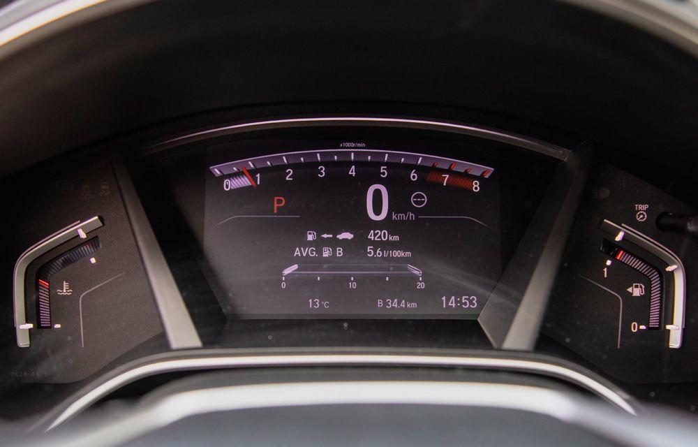 Honda CR-V hibrid vs. Honda CR-V benzină, episodul 2: hibrid sau benzină în afara orașului? - Poza 24