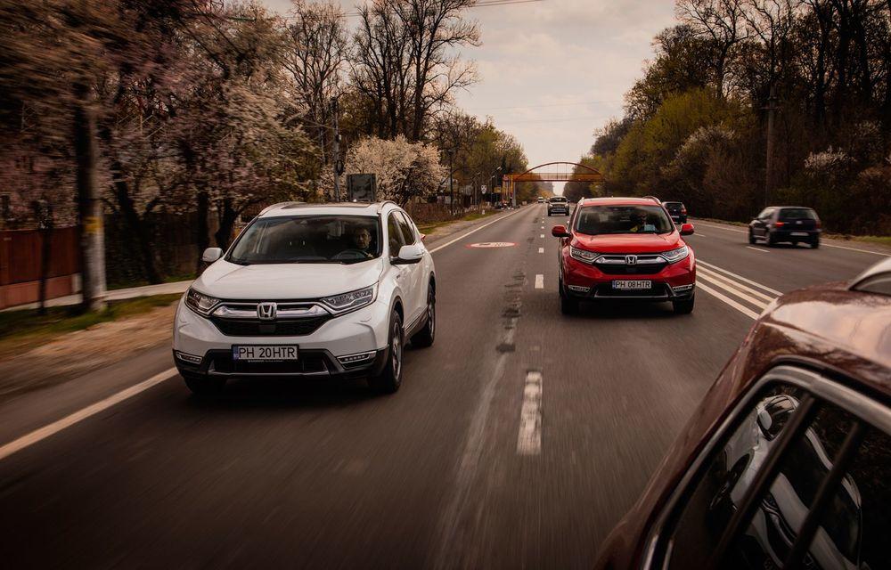 Honda CR-V hibrid vs. Honda CR-V benzină, episodul 2: hibrid sau benzină în afara orașului? - Poza 14
