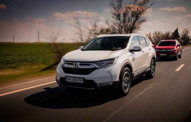 Honda CR-V hibrid vs. Honda CR-V benzină, episodul 2: hibrid sau benzină în afara orașului? - Poza 7