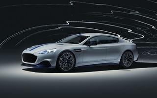 Primul Aston Martin electric este aici: Rapide E are două motoare electrice, 610 cai și 950 Nm: autonomie de 320 de kilometri și producție limitată la 155 de exemplare