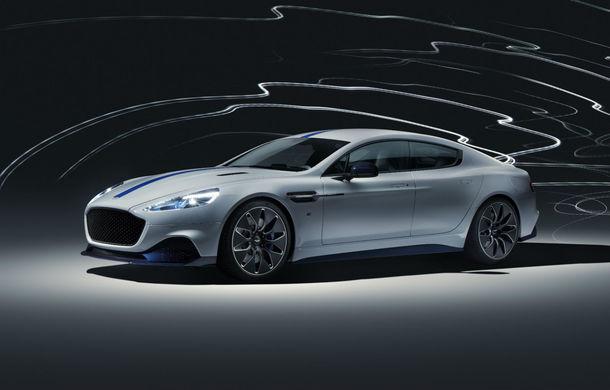 Primul Aston Martin electric este aici: Rapide E are două motoare electrice, 610 cai și 950 Nm: autonomie de 320 de kilometri și producție limitată la 155 de exemplare - Poza 1