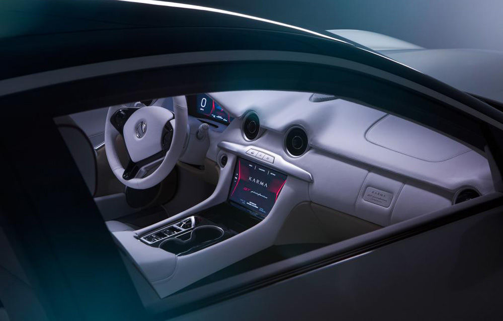 Primele imagini cu Karma GT Pininfarina: GT-ul cu două uși a fost lansat în China - Poza 8