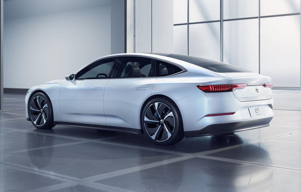 Nio prezintă ET Preview: versiune de pre-producție pentru un sedan elecric cu baterii din nichel, cobalt și magneziu - Poza 3