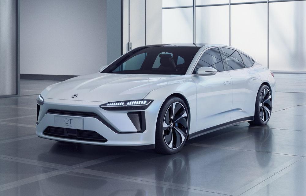 Nio prezintă ET Preview: versiune de pre-producție pentru un sedan elecric cu baterii din nichel, cobalt și magneziu - Poza 1