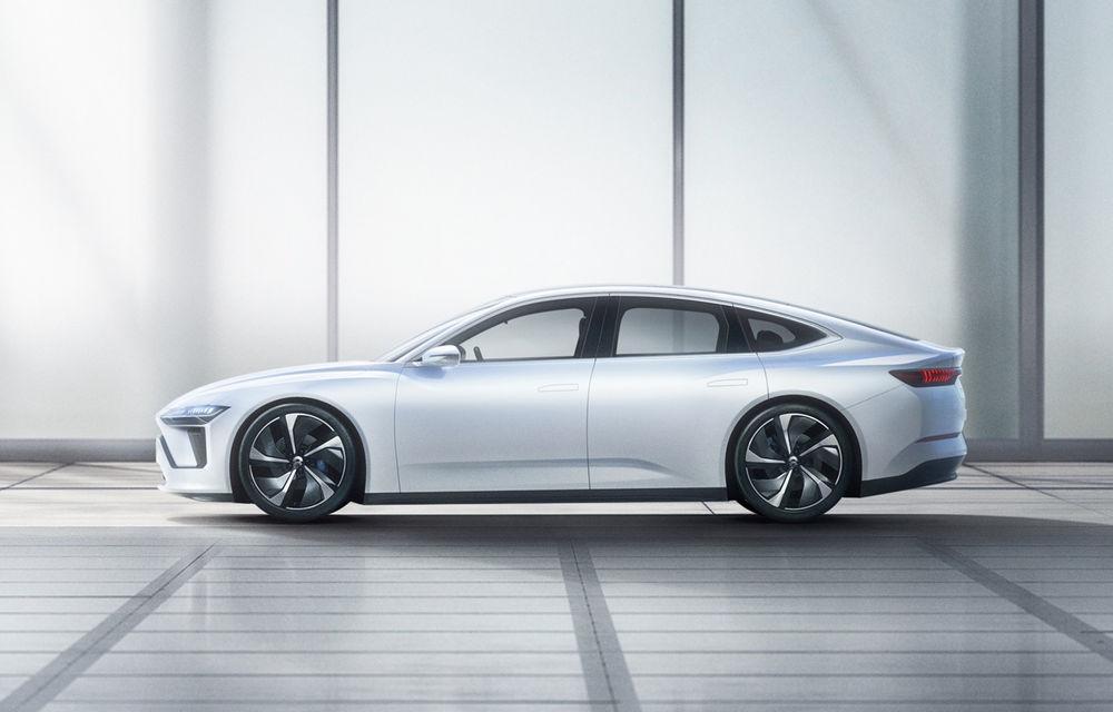 Nio prezintă ET Preview: versiune de pre-producție pentru un sedan elecric cu baterii din nichel, cobalt și magneziu - Poza 4