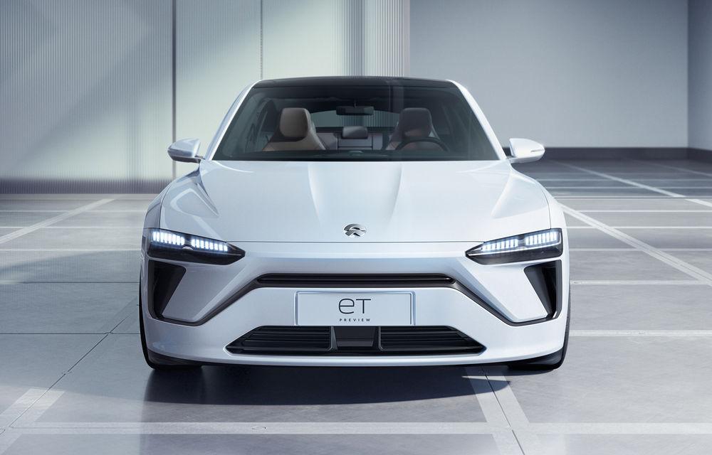 Nio prezintă ET Preview: versiune de pre-producție pentru un sedan elecric cu baterii din nichel, cobalt și magneziu - Poza 2