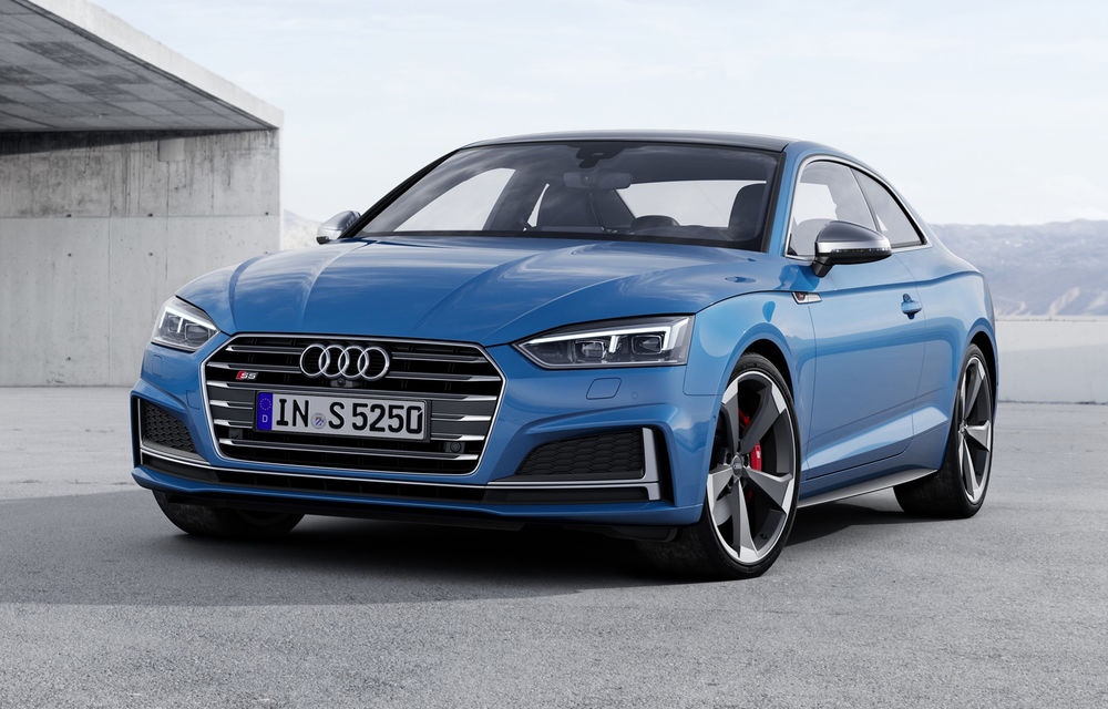 Audi S5 primește în premieră motor diesel: V6 TDI de 3.0 litri, 347 de cai putere și cuplu de 700 Nm - Poza 1