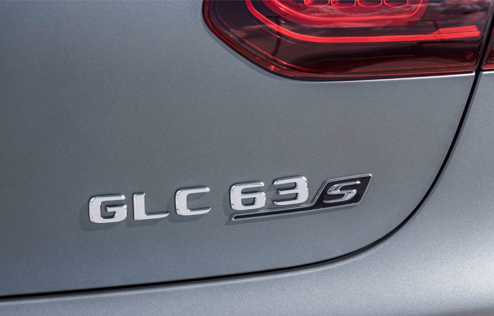 Noile Mercedes-AMG GLC 63 și GLC 63 Coupe: motor V8 biturbo de 4.0 litri de până la 510 cai putere - Poza 58