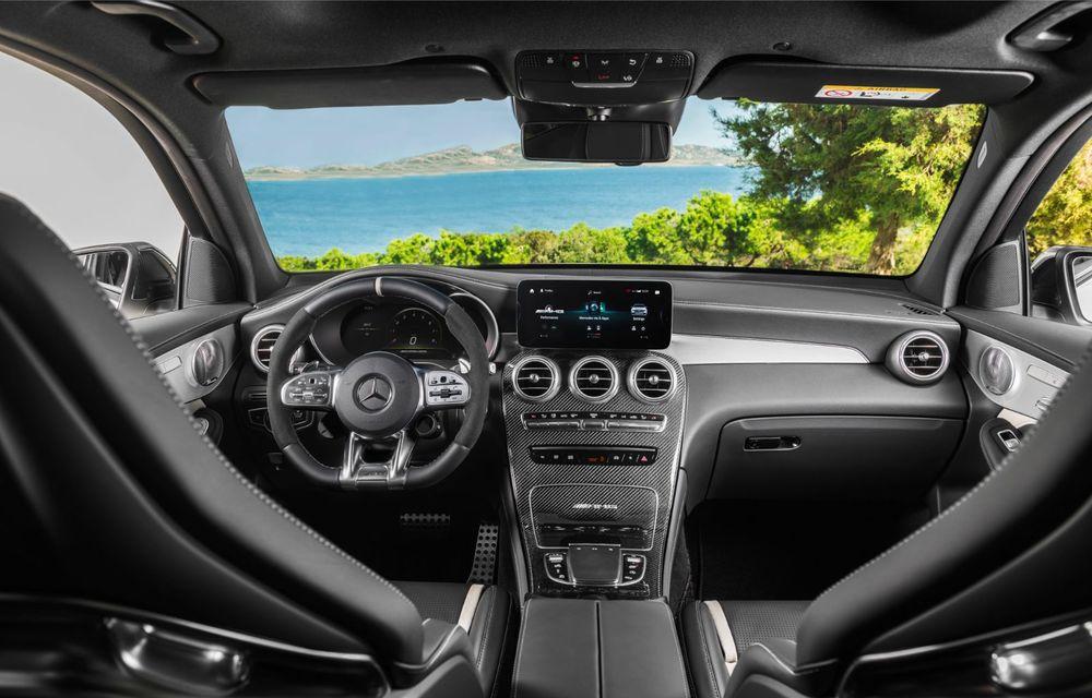 Noile Mercedes-AMG GLC 63 și GLC 63 Coupe: motor V8 biturbo de 4.0 litri de până la 510 cai putere - Poza 32
