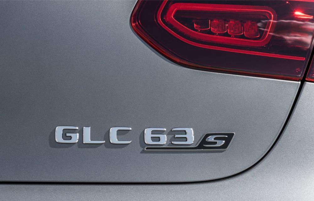 Noile Mercedes-AMG GLC 63 și GLC 63 Coupe: motor V8 biturbo de 4.0 litri de până la 510 cai putere - Poza 57