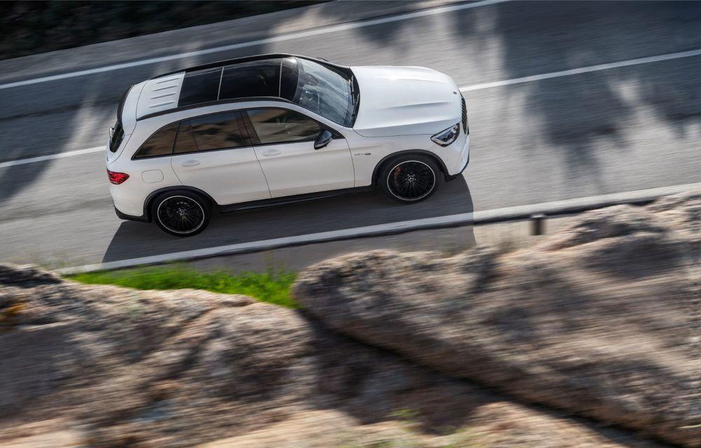 Noile Mercedes-AMG GLC 63 și GLC 63 Coupe: motor V8 biturbo de 4.0 litri de până la 510 cai putere - Poza 9