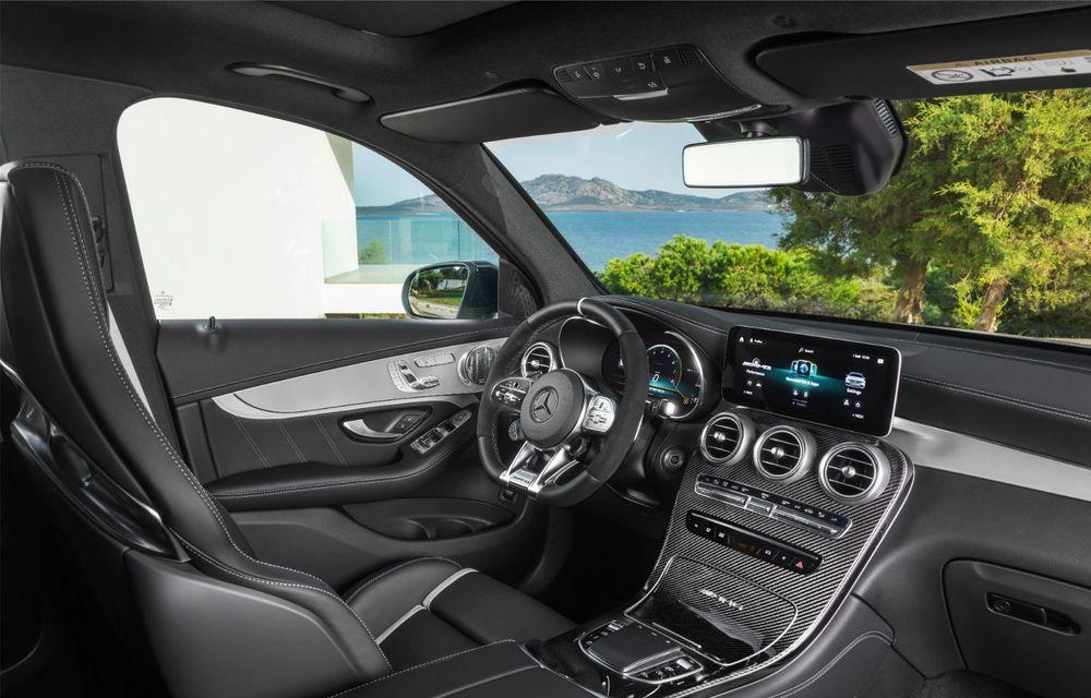 Noile Mercedes-AMG GLC 63 și GLC 63 Coupe: motor V8 biturbo de 4.0 litri de până la 510 cai putere - Poza 31