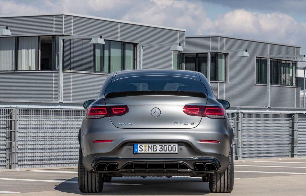 Noile Mercedes-AMG GLC 63 și GLC 63 Coupe: motor V8 biturbo de 4.0 litri de până la 510 cai putere - Poza 53