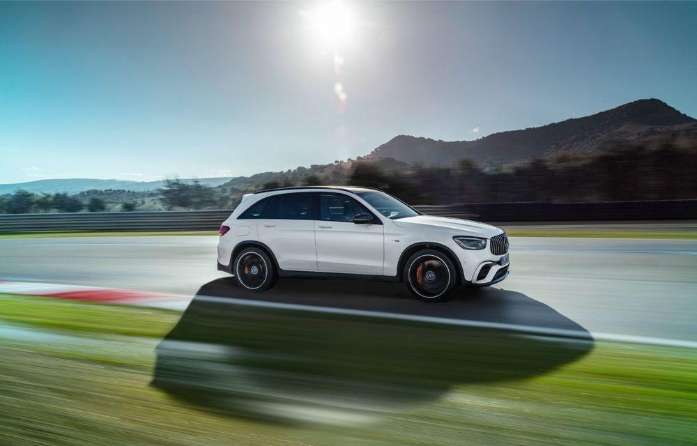 Noile Mercedes-AMG GLC 63 și GLC 63 Coupe: motor V8 biturbo de 4.0 litri de până la 510 cai putere - Poza 6