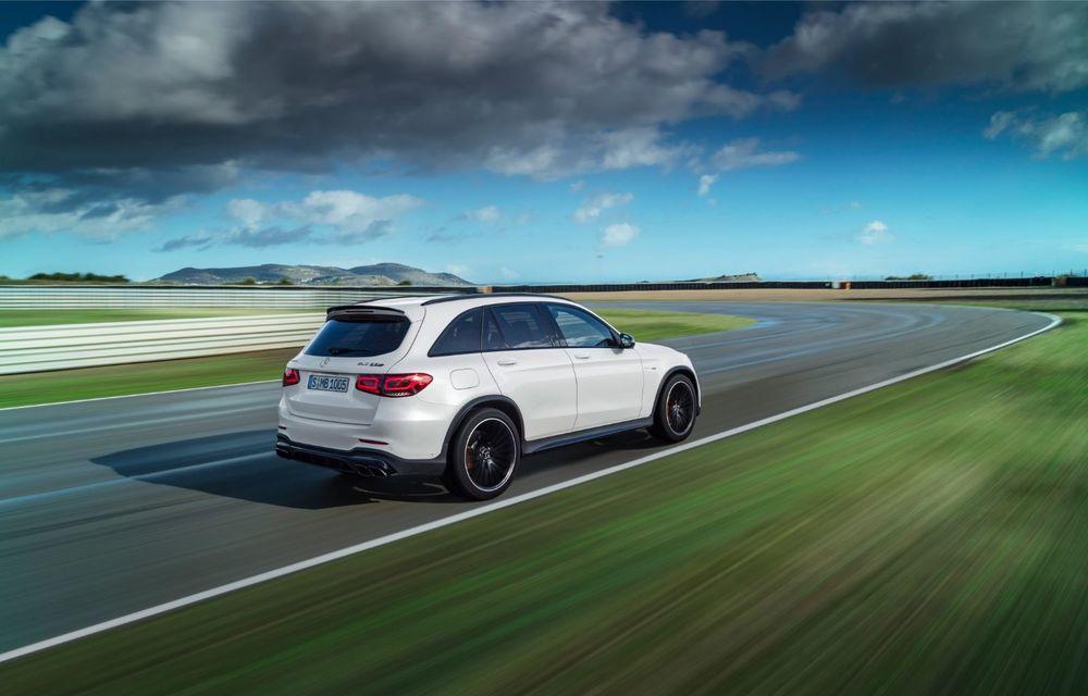 Noile Mercedes-AMG GLC 63 și GLC 63 Coupe: motor V8 biturbo de 4.0 litri de până la 510 cai putere - Poza 7