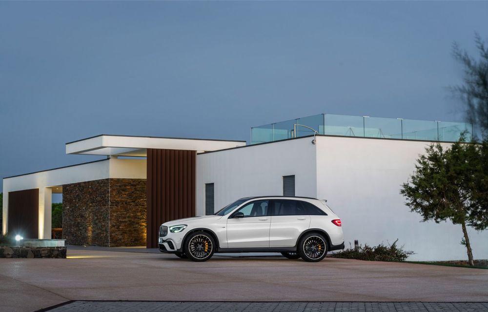 Noile Mercedes-AMG GLC 63 și GLC 63 Coupe: motor V8 biturbo de 4.0 litri de până la 510 cai putere - Poza 18