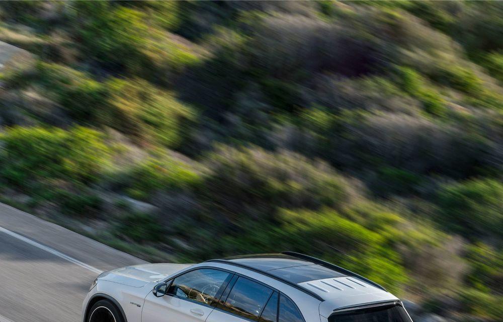 Noile Mercedes-AMG GLC 63 și GLC 63 Coupe: motor V8 biturbo de 4.0 litri de până la 510 cai putere - Poza 37