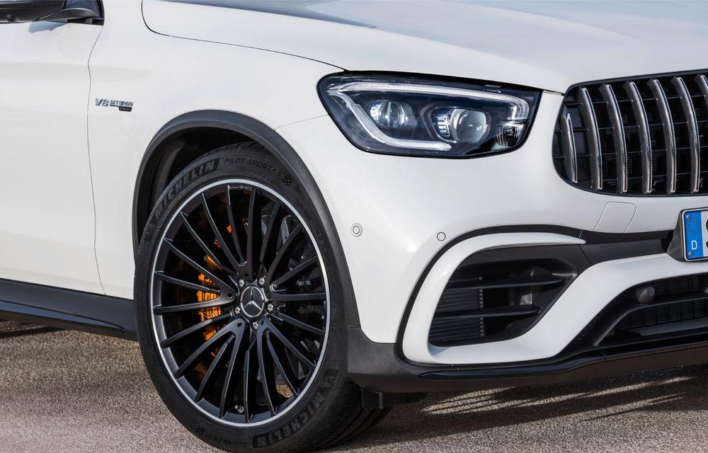 Noile Mercedes-AMG GLC 63 și GLC 63 Coupe: motor V8 biturbo de 4.0 litri de până la 510 cai putere - Poza 28