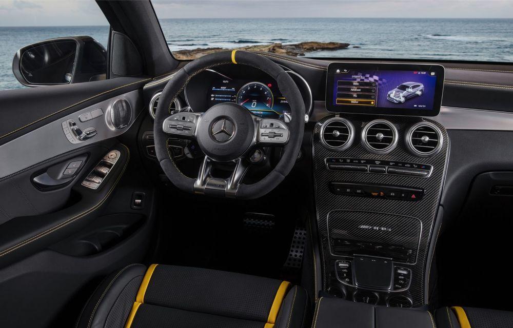 Noile Mercedes-AMG GLC 63 și GLC 63 Coupe: motor V8 biturbo de 4.0 litri de până la 510 cai putere - Poza 48