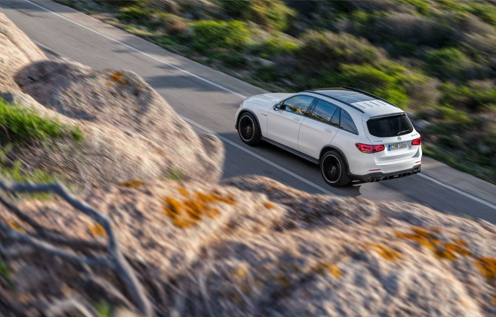 Noile Mercedes-AMG GLC 63 și GLC 63 Coupe: motor V8 biturbo de 4.0 litri de până la 510 cai putere - Poza 10