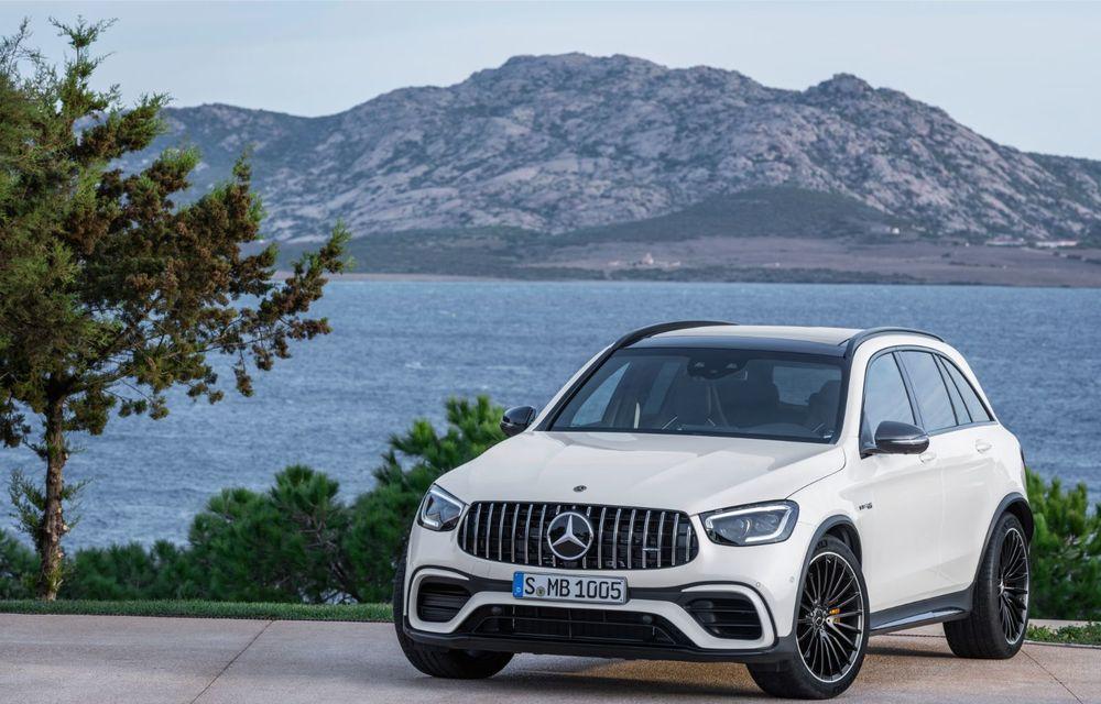Noile Mercedes-AMG GLC 63 și GLC 63 Coupe: motor V8 biturbo de 4.0 litri de până la 510 cai putere - Poza 26