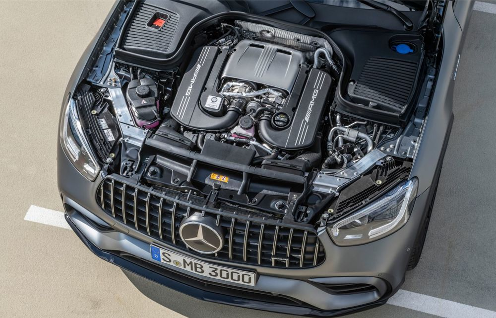 Noile Mercedes-AMG GLC 63 și GLC 63 Coupe: motor V8 biturbo de 4.0 litri de până la 510 cai putere - Poza 62