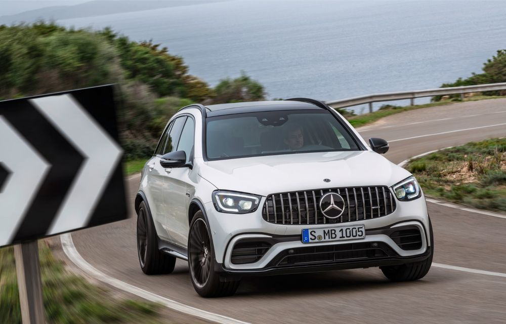 Noile Mercedes-AMG GLC 63 și GLC 63 Coupe: motor V8 biturbo de 4.0 litri de până la 510 cai putere - Poza 15