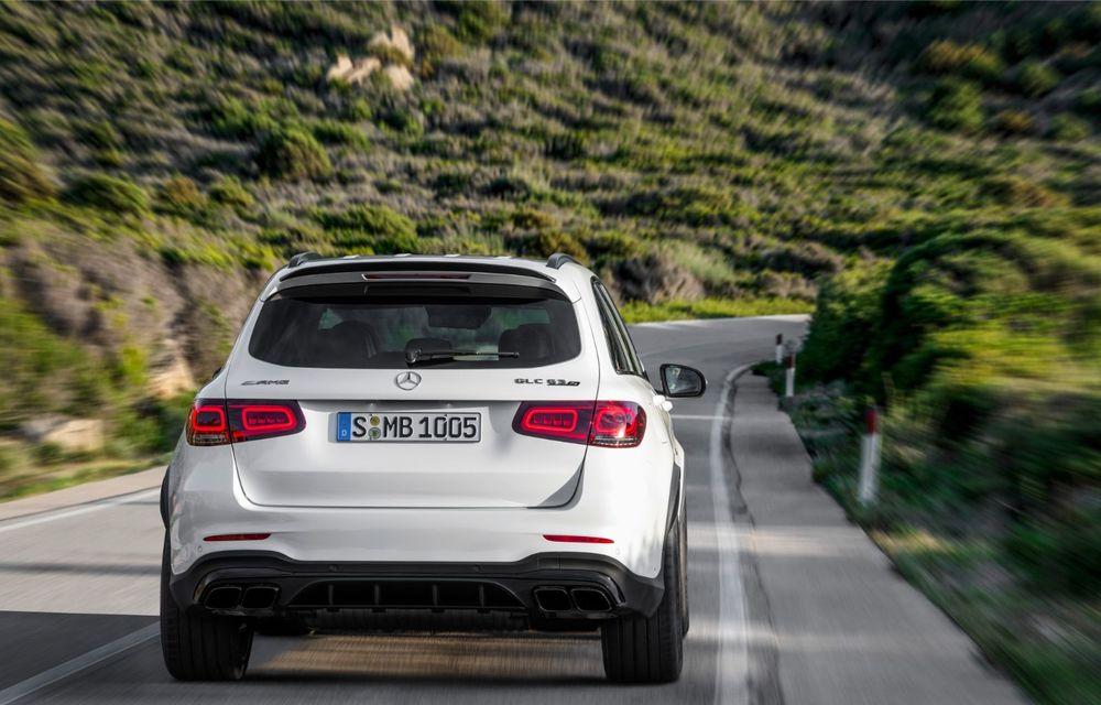 Noile Mercedes-AMG GLC 63 și GLC 63 Coupe: motor V8 biturbo de 4.0 litri de până la 510 cai putere - Poza 11