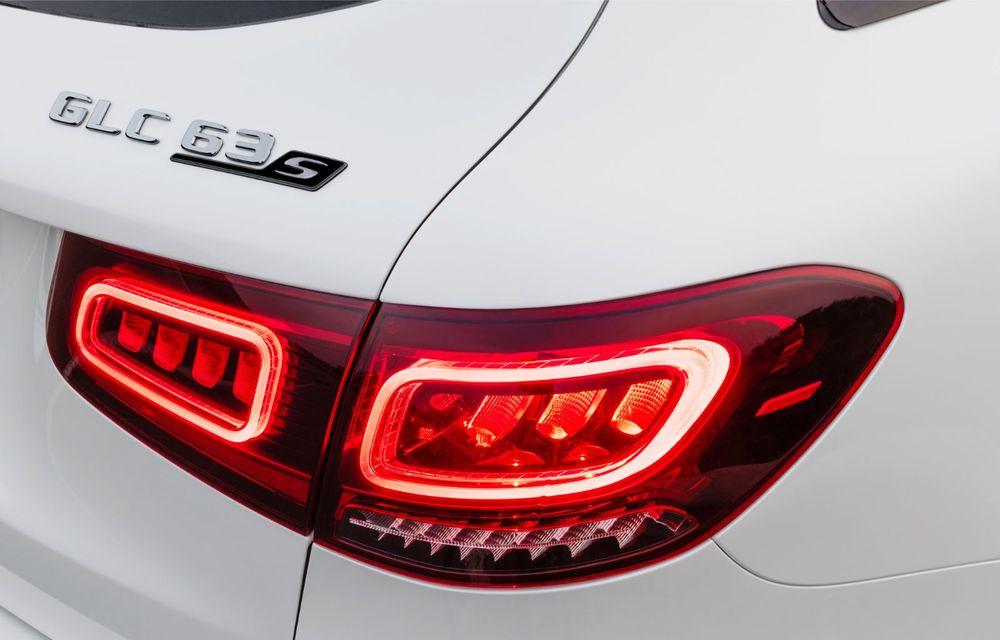 Noile Mercedes-AMG GLC 63 și GLC 63 Coupe: motor V8 biturbo de 4.0 litri de până la 510 cai putere - Poza 14