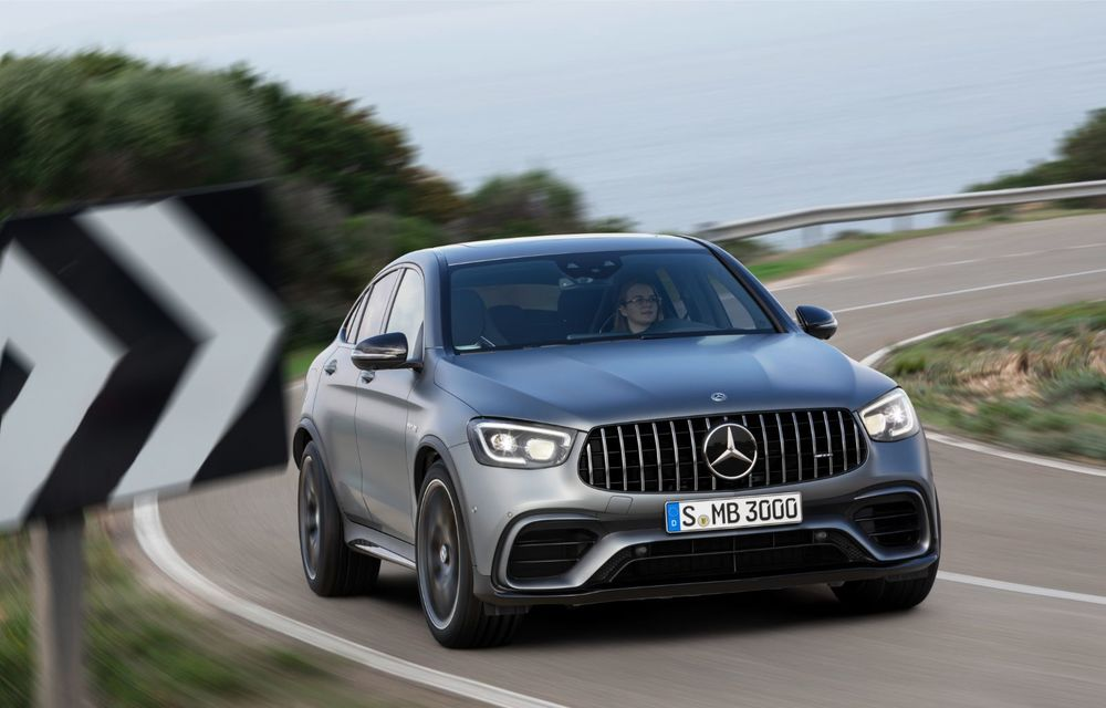 Noile Mercedes-AMG GLC 63 și GLC 63 Coupe: motor V8 biturbo de 4.0 litri de până la 510 cai putere - Poza 43