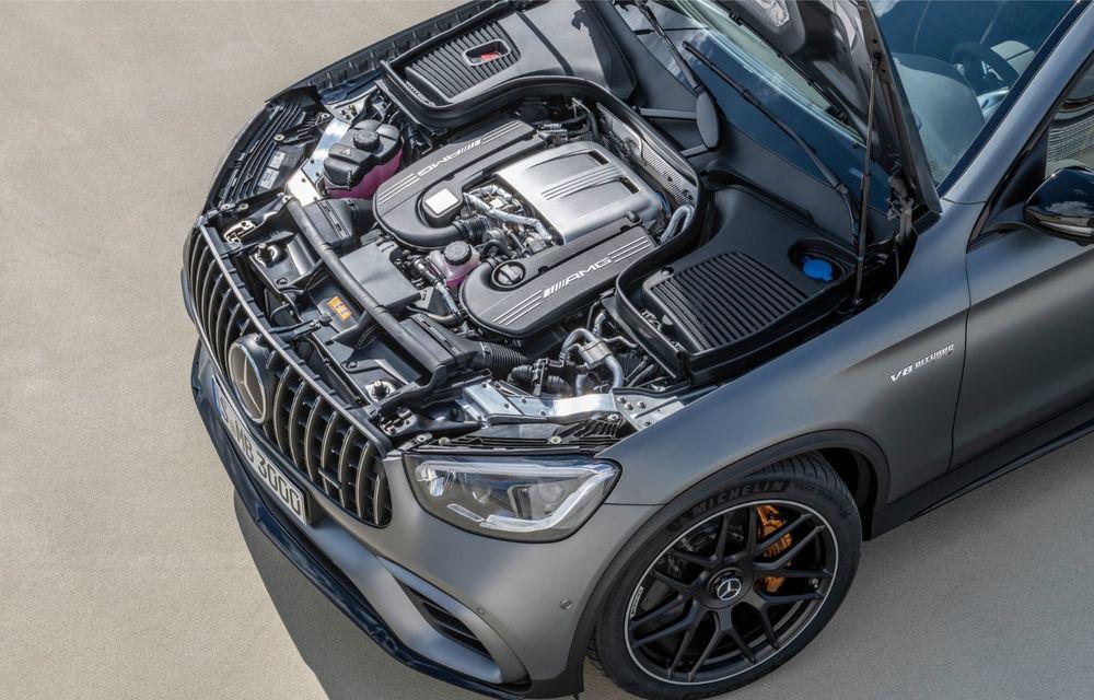 Noile Mercedes-AMG GLC 63 și GLC 63 Coupe: motor V8 biturbo de 4.0 litri de până la 510 cai putere - Poza 61