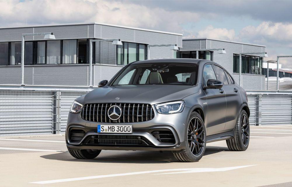 Noile Mercedes-AMG GLC 63 și GLC 63 Coupe: motor V8 biturbo de 4.0 litri de până la 510 cai putere - Poza 51