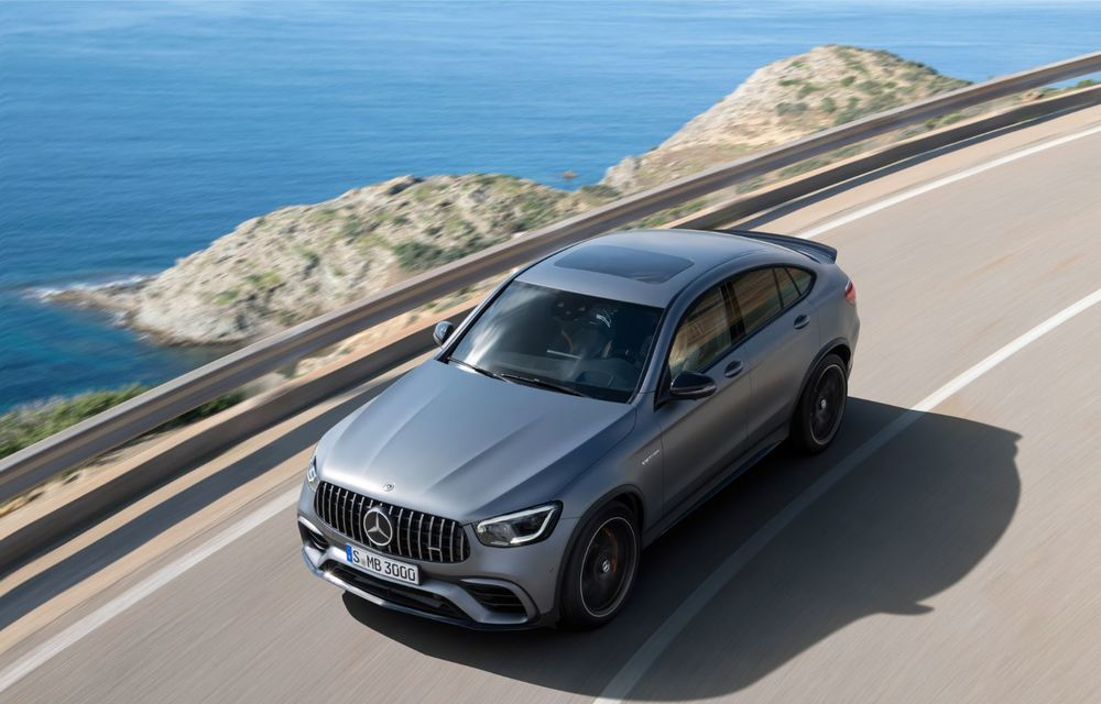 Noile Mercedes-AMG GLC 63 și GLC 63 Coupe: motor V8 biturbo de 4.0 litri de până la 510 cai putere - Poza 41