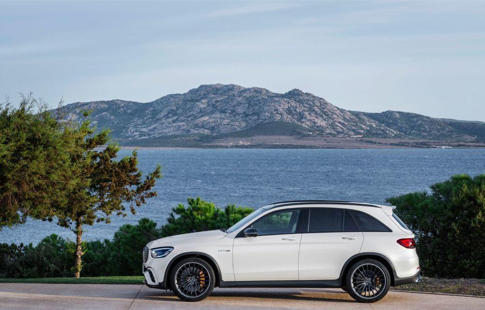 Noile Mercedes-AMG GLC 63 și GLC 63 Coupe: motor V8 biturbo de 4.0 litri de până la 510 cai putere - Poza 25