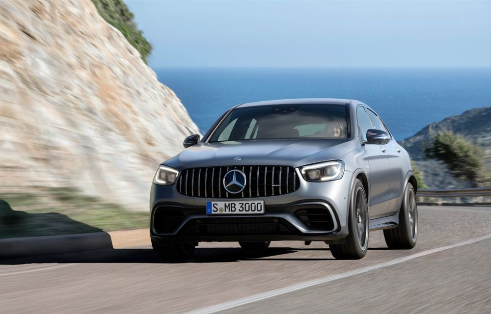 Noile Mercedes-AMG GLC 63 și GLC 63 Coupe: motor V8 biturbo de 4.0 litri de până la 510 cai putere - Poza 44