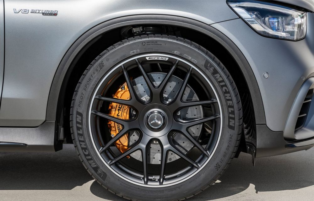 Noile Mercedes-AMG GLC 63 și GLC 63 Coupe: motor V8 biturbo de 4.0 litri de până la 510 cai putere - Poza 55