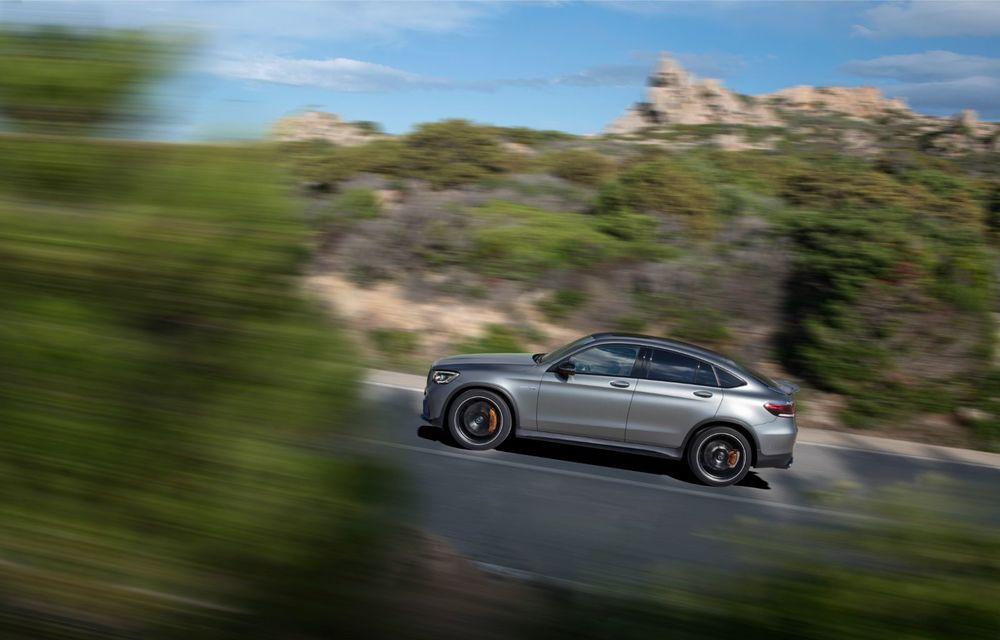 Noile Mercedes-AMG GLC 63 și GLC 63 Coupe: motor V8 biturbo de 4.0 litri de până la 510 cai putere - Poza 42