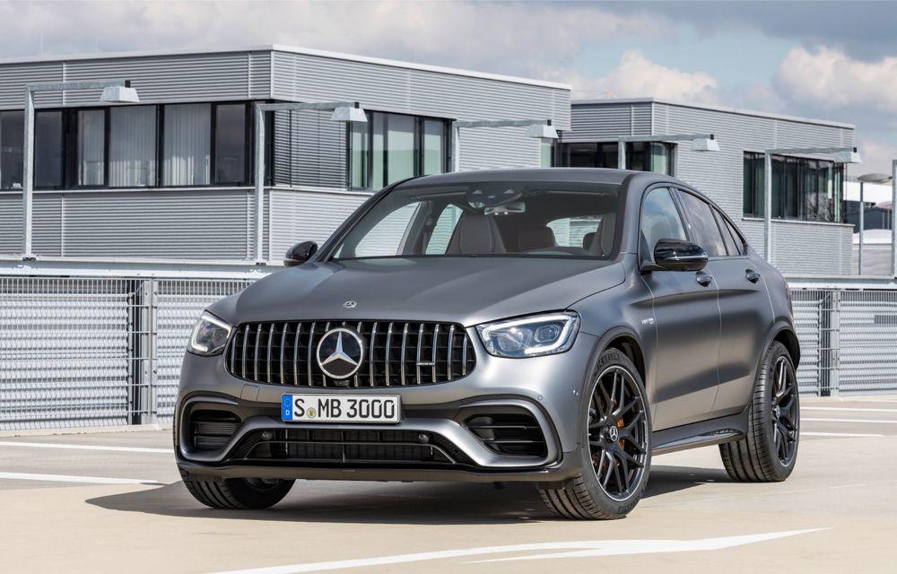Noile Mercedes-AMG GLC 63 și GLC 63 Coupe: motor V8 biturbo de 4.0 litri de până la 510 cai putere - Poza 50