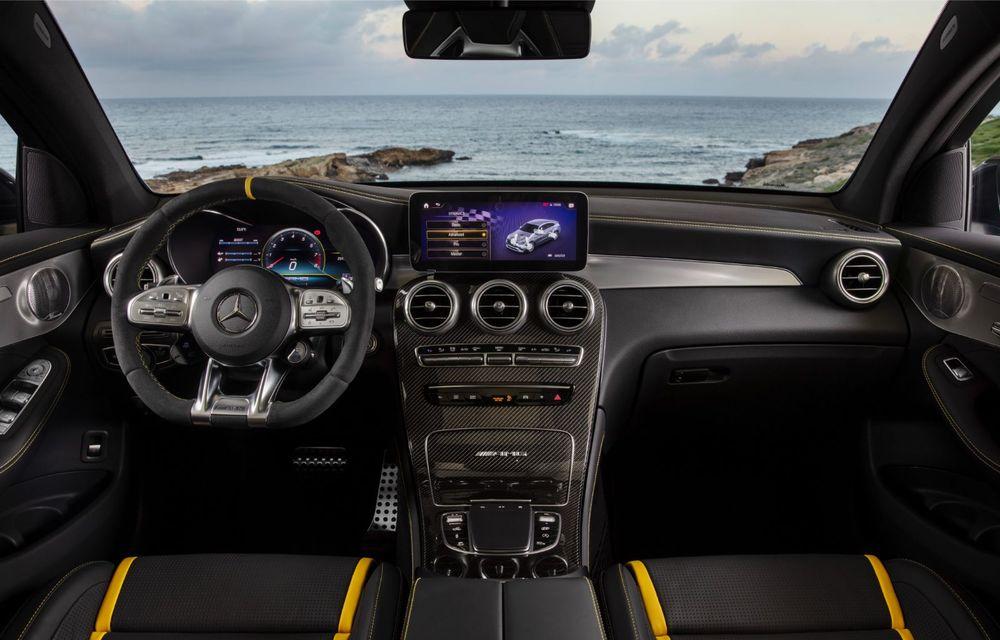Noile Mercedes-AMG GLC 63 și GLC 63 Coupe: motor V8 biturbo de 4.0 litri de până la 510 cai putere - Poza 47