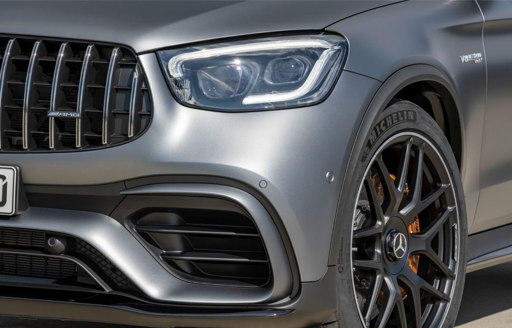 Noile Mercedes-AMG GLC 63 și GLC 63 Coupe: motor V8 biturbo de 4.0 litri de până la 510 cai putere - Poza 59
