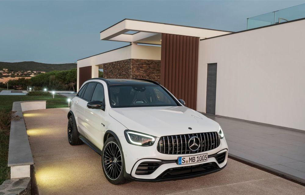 Noile Mercedes-AMG GLC 63 și GLC 63 Coupe: motor V8 biturbo de 4.0 litri de până la 510 cai putere - Poza 19