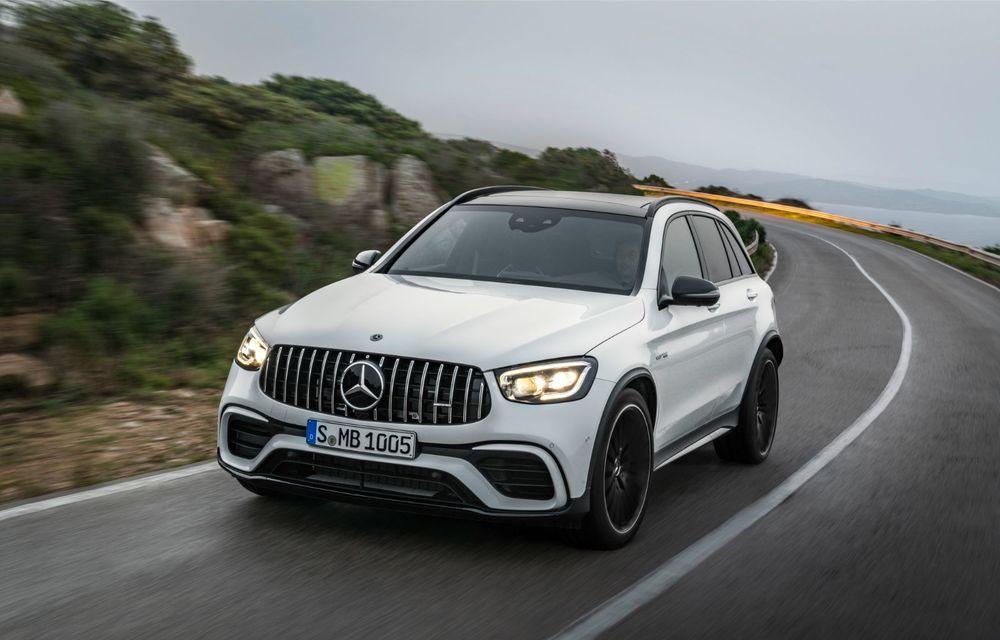 Noile Mercedes-AMG GLC 63 și GLC 63 Coupe: motor V8 biturbo de 4.0 litri de până la 510 cai putere - Poza 13